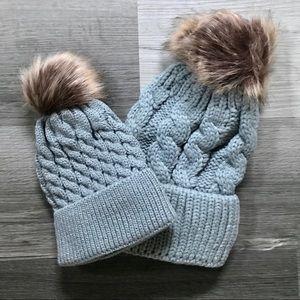 💫Mum & baby fall winter hat! Warm & beautiful!💫
